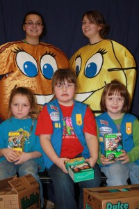 Girl Scout Cookie Rally