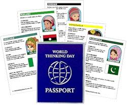 Thinking Day Passport