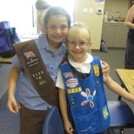 New Girl Scout Investiture and Rededication