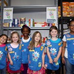 Daisy Girl Scouts Give Back to Community