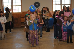 Girl Scout World Thinking Day