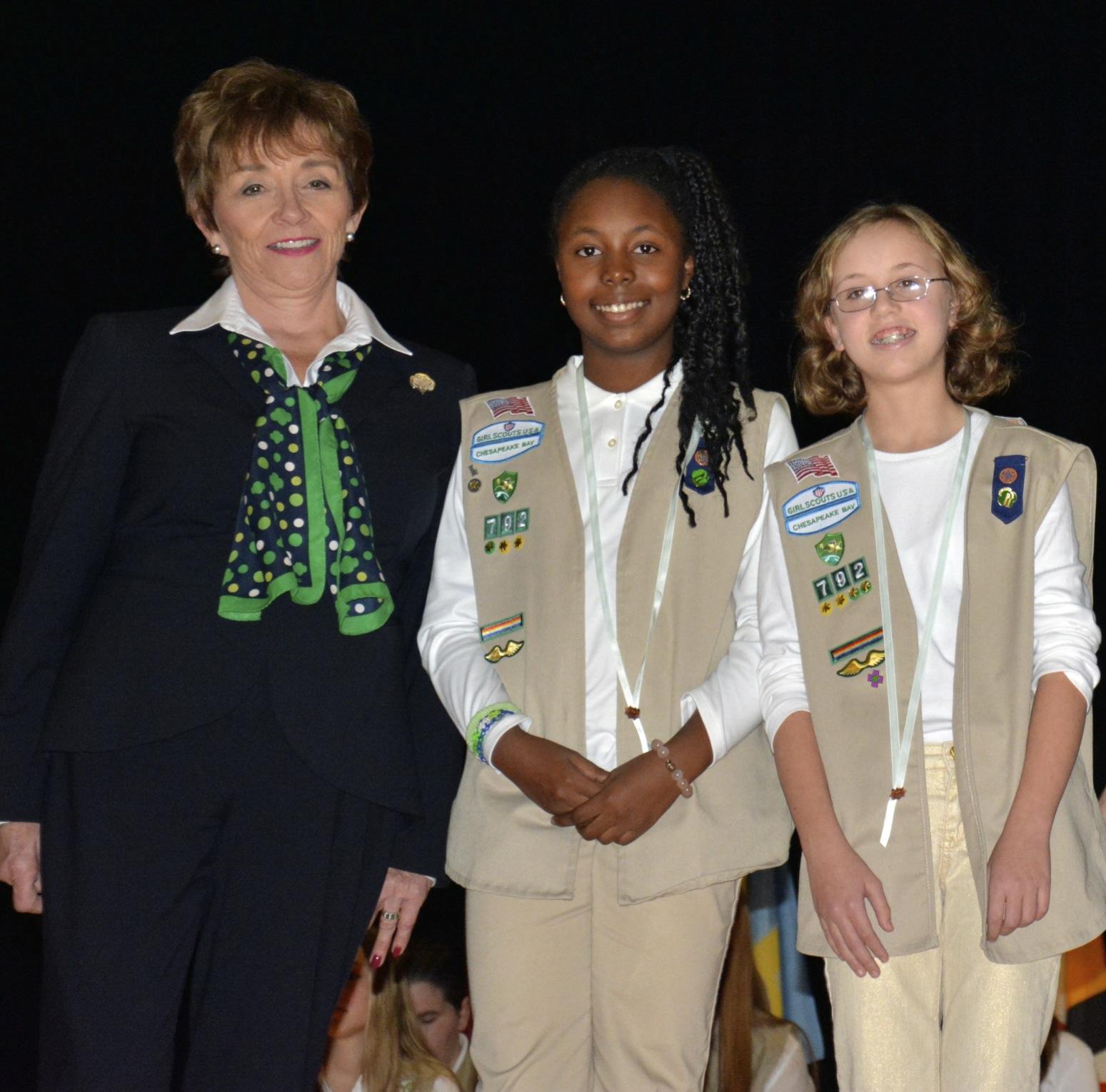 GIrl Scout Bronze Award