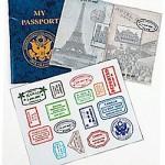 Girl Scout International Night Service Unit Event passport
