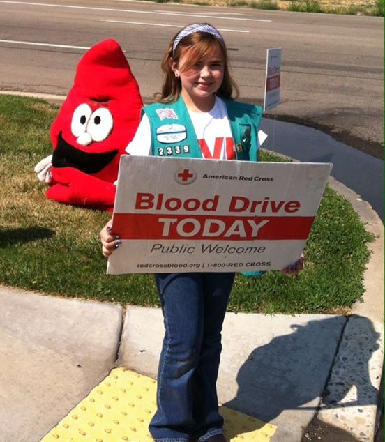 Blood Drive Bronze Award Project