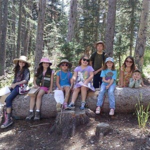 GS New Mexico Trails Troop 10414 hiking in our neighborhood, Sandia Peak.