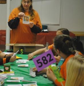 Cadette Girl Scout Mock Auction