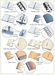 Cadette Book Artist - Book Binding Styles