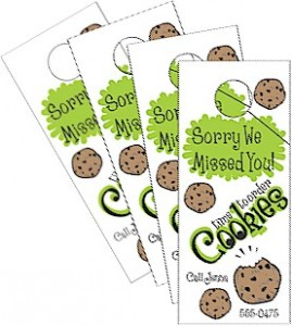 Cookie Door Hangers