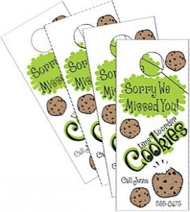 Cookie Door Hangers
