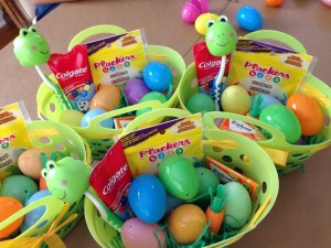 Tooth Care Easter Baskets