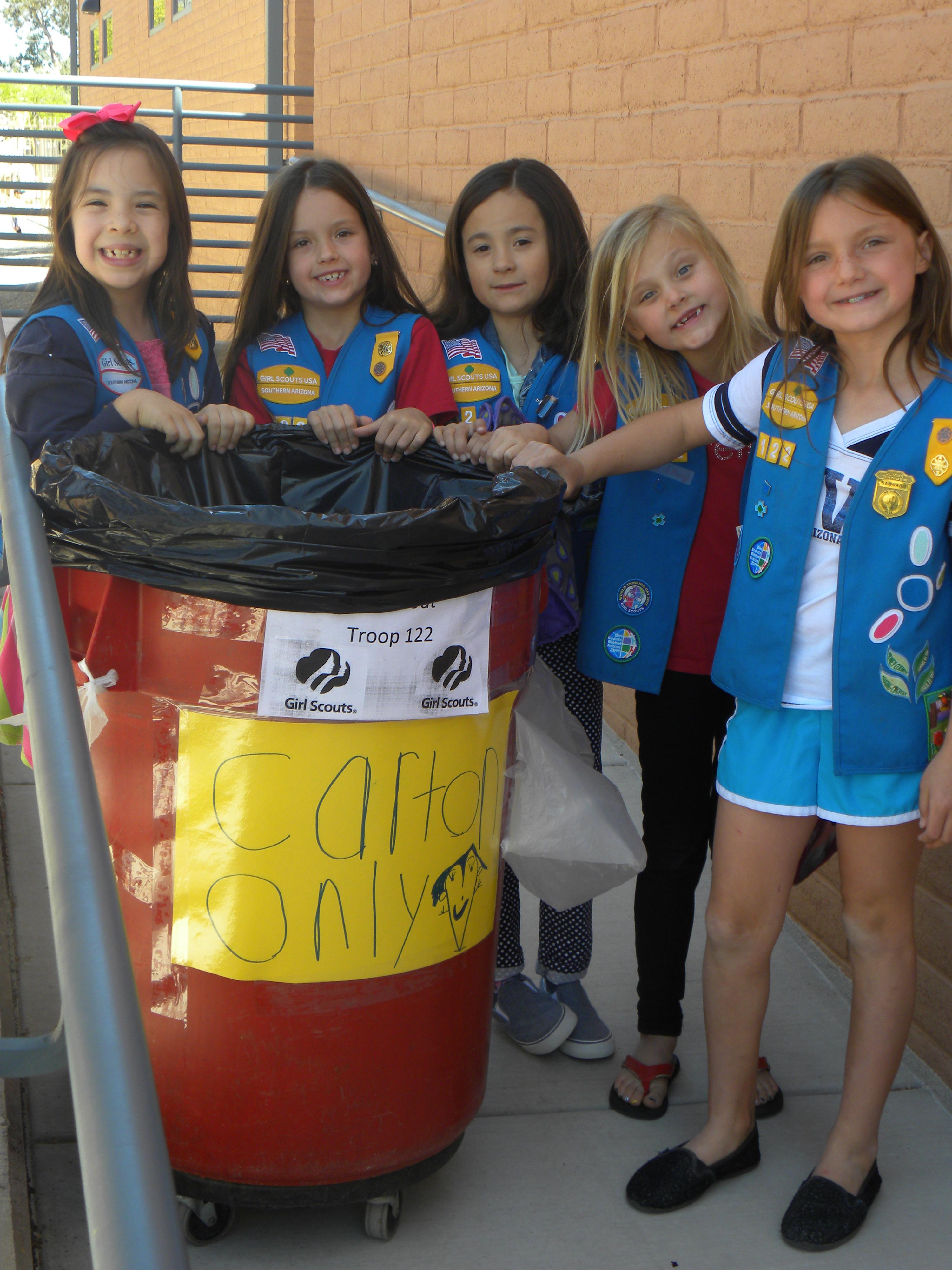 Girl Scout Cookie Nail Art: DSCN4082