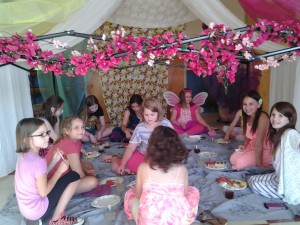 Girl Scout Fairy Tea Party