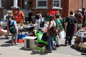 Earn Money for Scouts yard sale