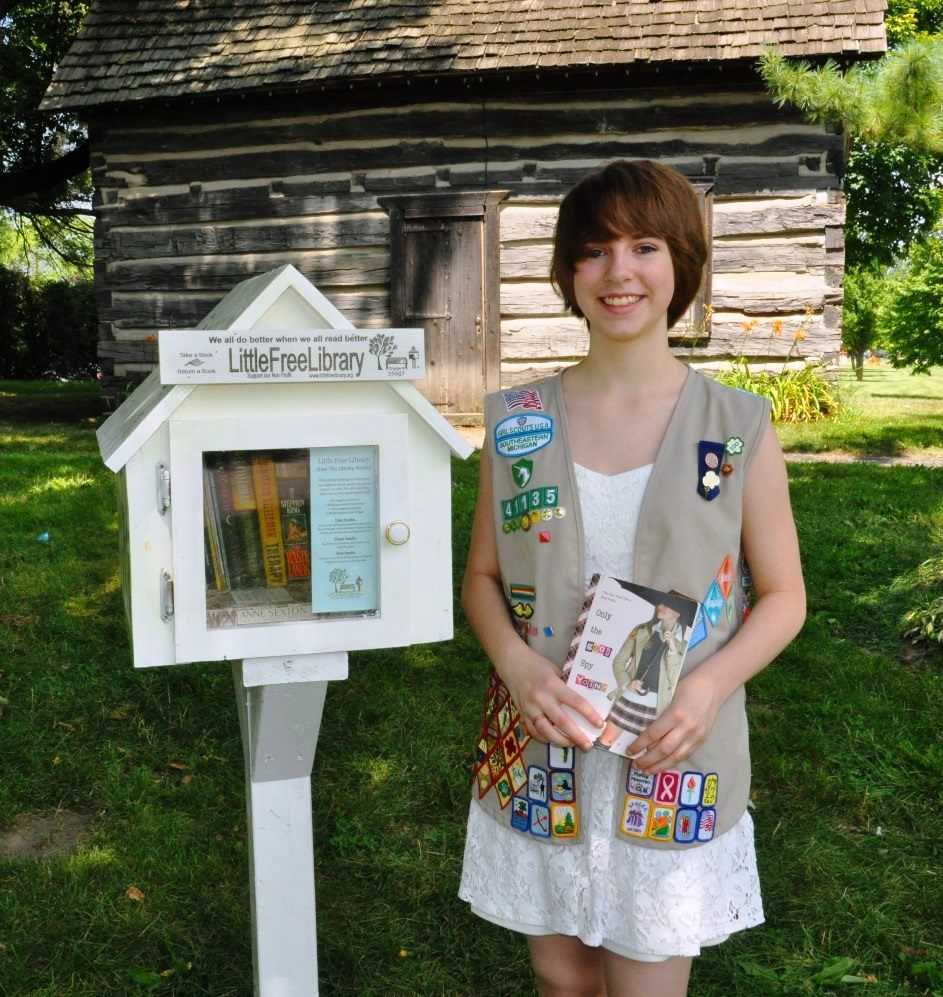scout leader 411 blog | little free libraries: a silver award