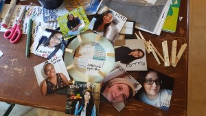 Activity from Makingfriends journey in a day kit.