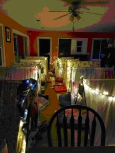 GS Indoor Camping Sleepover Night