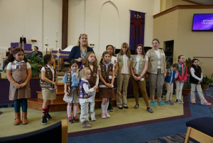5 Tips How To Host Girl Scout Sunday