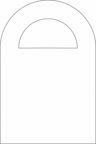 Girl Scout Cookie Box Handle Template