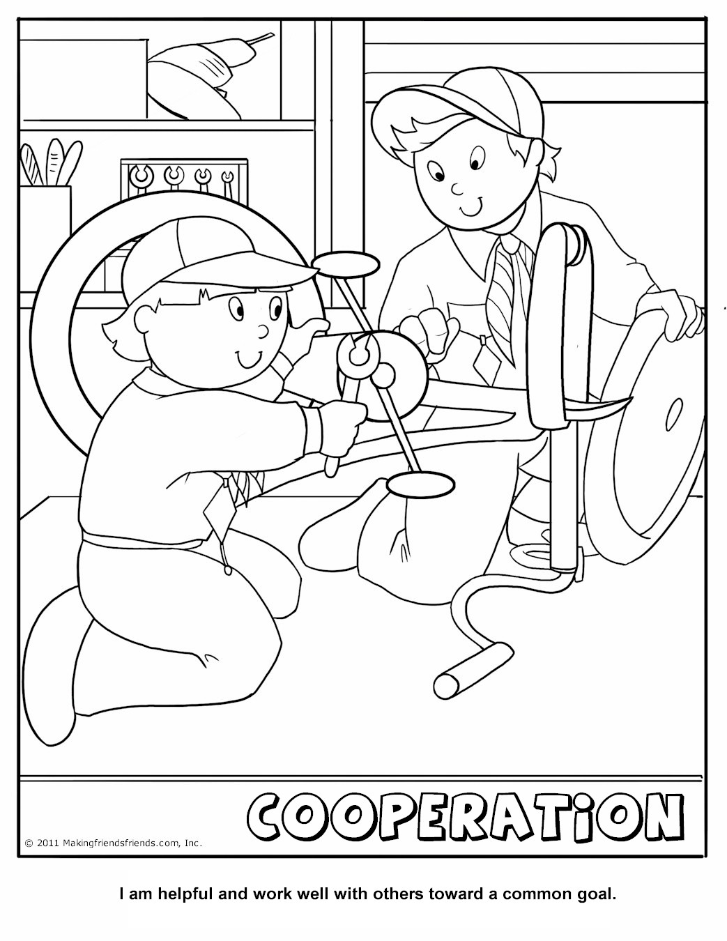 funny boy scout coloring pages - photo#23