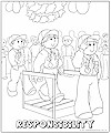 responsibility coloring pages - photo#11