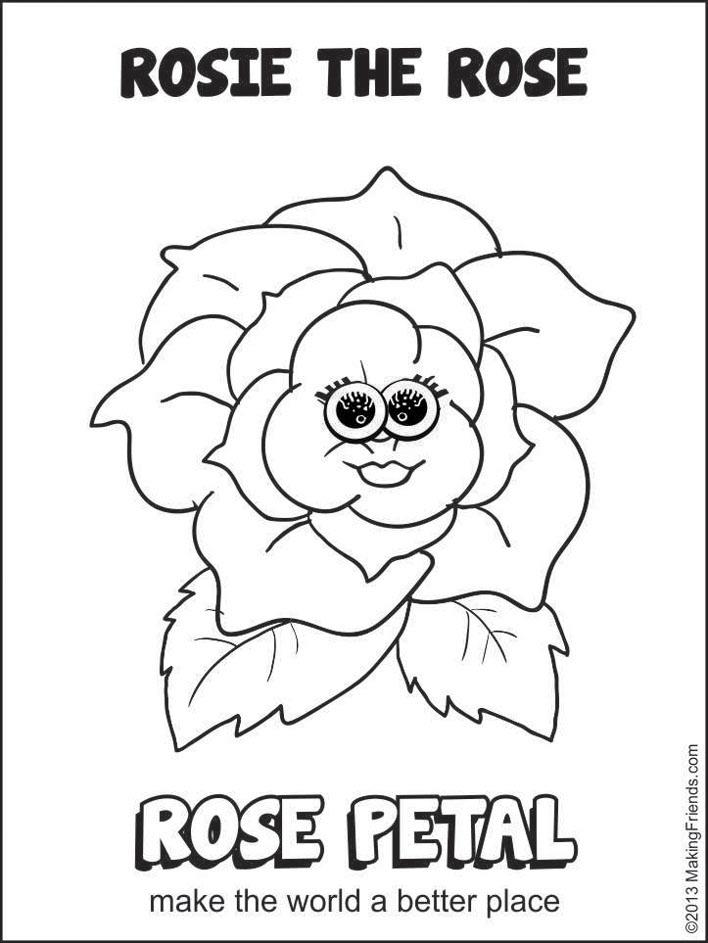 Rose Petal Rosie the Rose MakingFriendsMakingFriends