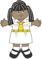 Bangladesh Girl Guide Paper Dolls