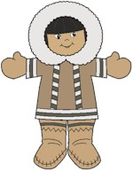 Inuit Paper Friends