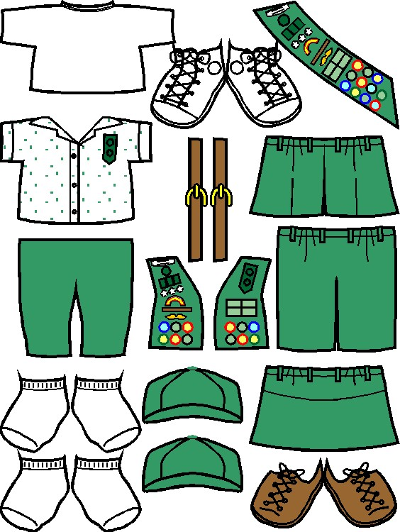 Uniforms for Junior Girl Scout Friends
