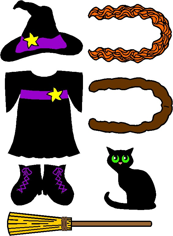 Witch Clothes for Friends