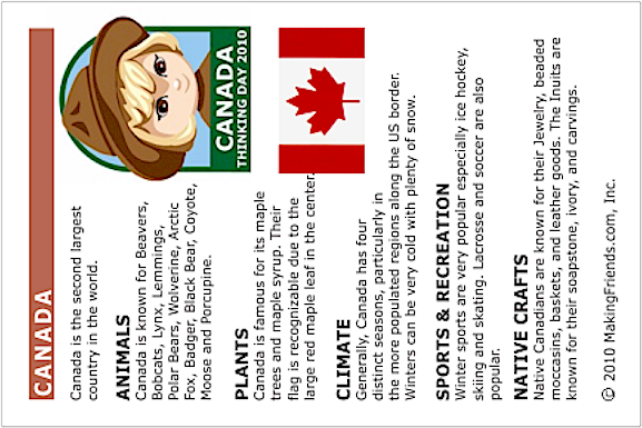 Canada Information for Kids