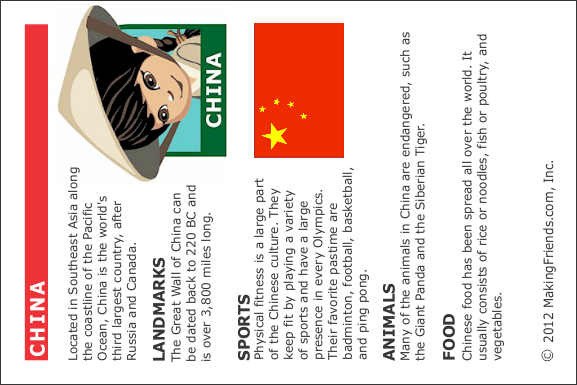 Facts about China - MakingFriends  Facts about Chi...