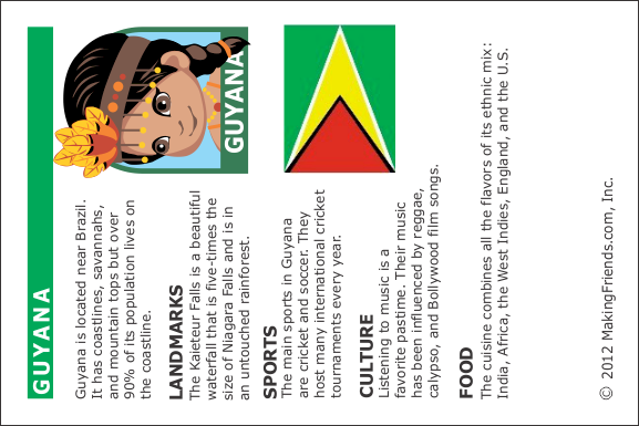 facts about guyana   makingfriendsmakingfriends