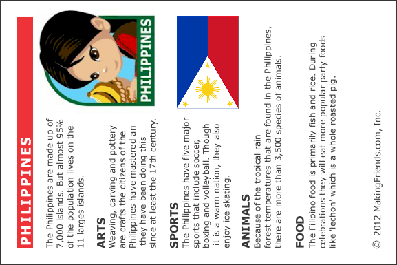 Facts about Philippines - MakingFriends