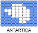 Antartica Flag Pin Pattern