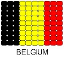 Belgium Flag Pin Pattern