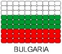 Bulgaria Flag Pin Pattern