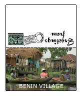 Benin Printable Mini Postcard