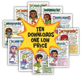 girl scout superhero downloads