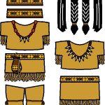 Native American Paper Doll Friends