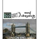 Mini Postcards | London England
