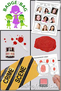 Girl Scout Special Agent Badge in a Bag via @gsleader411