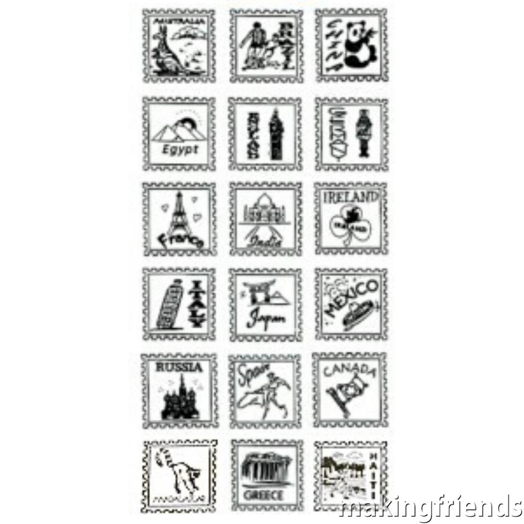 International Rubber Stamps via @gsleader411