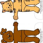 Animal Paper Doll Friends