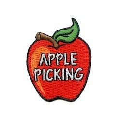 Girl Scout Apple Picking Fun Patch