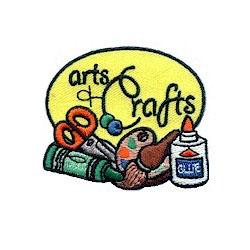 Arts & Crafts Girl Scout Fun Patch
