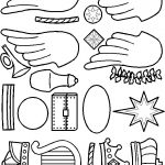 Gold Pieces for Paper Doll Bible Friends