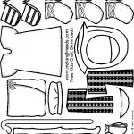 Bible Paper Doll Friends sandals and more