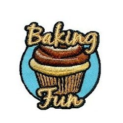 Girl Scout Baking Fun Patch
