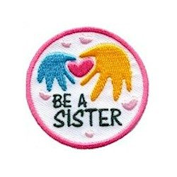 Girl Scout Be A Sister Fun Patch
