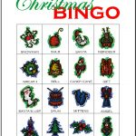 Christmas Bingo Card 11